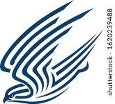 abstract design of falcon...   Shutterstock .eps vector #1620239488