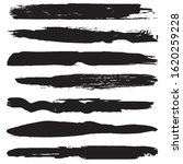 a set of grunge brushes. smears ... | Shutterstock .eps vector #1620259228