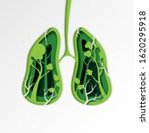 green lung of nature concept...   Shutterstock .eps vector #1620295918