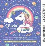 birthday party invitation card... | Shutterstock .eps vector #1620378448