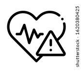 heart disease icon vector....   Shutterstock .eps vector #1620380425