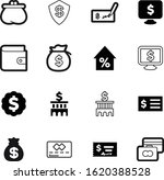 bank vector icon set such as ...
