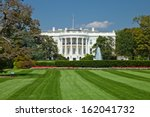 the white house in washington d.... | Shutterstock . vector #162041732