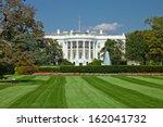the white house in washington d.... | Shutterstock . vector #162041732