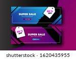 trendy geometric sale banner...   Shutterstock .eps vector #1620435955