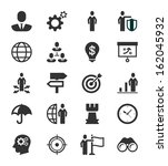 business icons concept eps8 | Shutterstock .eps vector #162045932
