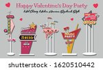 happy valentine's day party...   Shutterstock .eps vector #1620510442