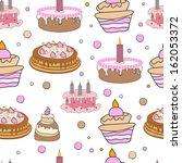 happy birthday concept ... | Shutterstock .eps vector #162053372