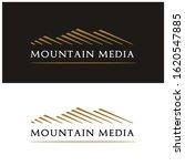 Mountain Peak Hill Mount Logo...