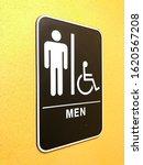 men s restroom signs  men s...   Shutterstock . vector #1620567208