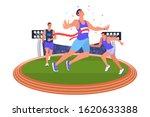 Vector Illustration Athlete...