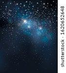 vector night starry sky... | Shutterstock .eps vector #1620652648