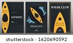 set of kayaking or rafting... | Shutterstock .eps vector #1620690592