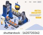 metal industry colored banner... | Shutterstock .eps vector #1620720262