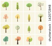 tree icon | Shutterstock .eps vector #162072848