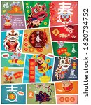 chinese new year poster design...   Shutterstock .eps vector #1620734752