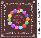christmas greeting card with... | Shutterstock . vector #1620778132