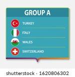 european football tournament... | Shutterstock .eps vector #1620806302