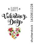happy valentines day card.... | Shutterstock . vector #1620811228