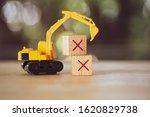 The Yellow Toy Car Excavator...