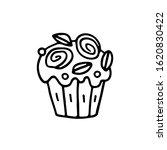 easter cake  bakery product ... | Shutterstock .eps vector #1620830422
