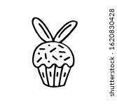 easter cake  bakery product ... | Shutterstock .eps vector #1620830428