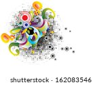 retro decoration | Shutterstock . vector #162083546