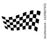 racing flag. race flag vector... | Shutterstock .eps vector #1620867652