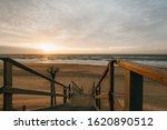 Sunset At Coastline  Sylt ...