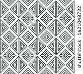 seamless geometric vector...   Shutterstock .eps vector #1621048732