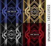 bulk bands  decorative abstract ... | Shutterstock .eps vector #162113522