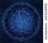 Astrological Celestial Map Of...