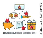 loyalty program banner with...