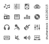 simple icon set related to...   Shutterstock .eps vector #162130115