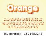 orange text style effect... | Shutterstock .eps vector #1621403248