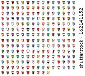 world flag collection | Shutterstock . vector #162141152