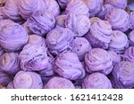 yummy violet chinese pastry... | Shutterstock . vector #1621412428