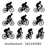 10 high quality racing... | Shutterstock .eps vector #162143582
