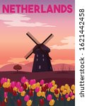 Netherlands Vector Illustration ...