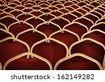 auditorium empty seats   Shutterstock . vector #162149282