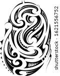 tribal style ornament for... | Shutterstock .eps vector #1621556752
