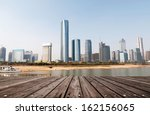 cityscape of modern city | Shutterstock . vector #162156065