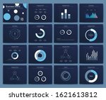 big set of infographics...   Shutterstock .eps vector #1621613812