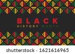 black history month. african... | Shutterstock .eps vector #1621616965