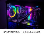 Gaming Pc With Rgb Led Lights...