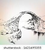 Old Bridge  Stone Bridge Over...