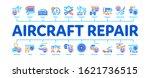 aircraft repair tool minimal... | Shutterstock .eps vector #1621736515