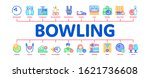 bowling game tools minimal... | Shutterstock .eps vector #1621736608