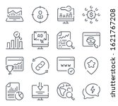 search engine optimization... | Shutterstock .eps vector #1621767208