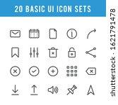 basic ui icon set  high quality ...